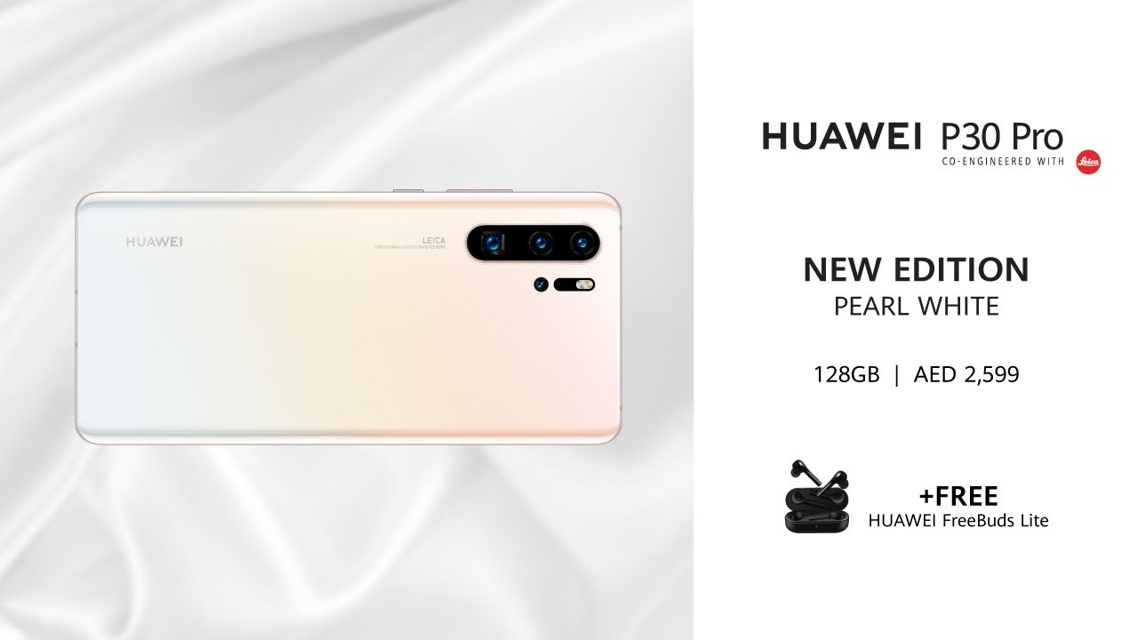 Photo of HUAWEI P30 Pro | Pearl White 128GB – هواوي