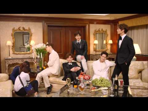 KBS Fluttering India InStyle Magazine Shooting  Behind the Scenes