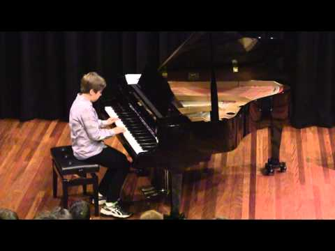 "Max Burnett performs ""Etude"" and ""Canon"""
