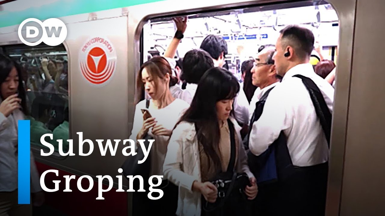 American Girl Groped On Bus japan's problem with subway groping | dw news