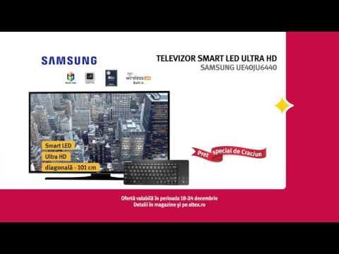 Reclamă ALTEX TV Samsung - Decembrie 2015