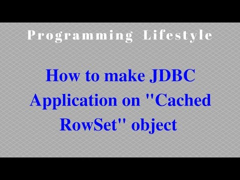 JAVA: How to make JDBC Application on