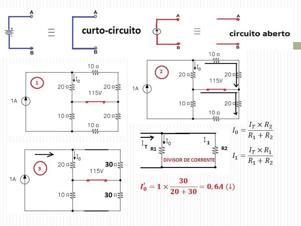Circuito Eletricos : A anÁlise de circuitos elÉtricos superposiÇÃo e