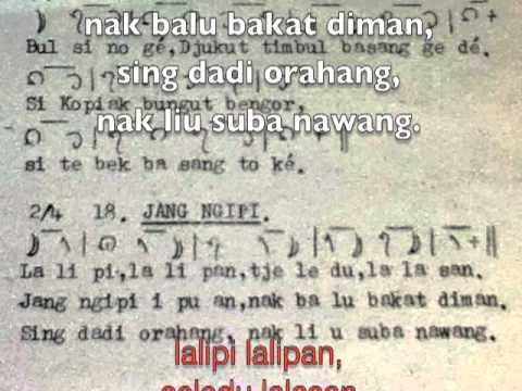 Not Angka Lagu Jenggot Uban