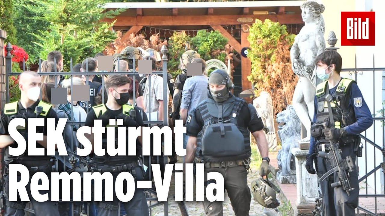 Download Clan-Razzia in Berlin: Polizei durchsucht Remmo-Anwesen