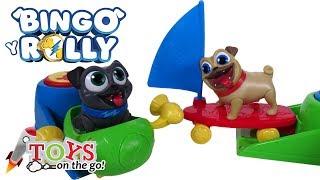 Carga y Lanza a Bingo y Rolly 🐶 Puppy Dog Pals