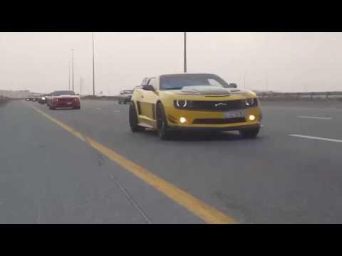 UAE Camaro and corvette club event