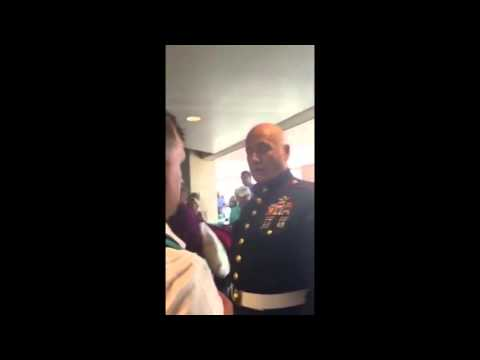 Fake Marine Called Out By Army Officer In Kansas Airport Stolen Valor