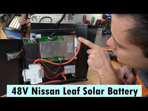 48V Nissan Leaf -Used Cell- Solar Battery Pack