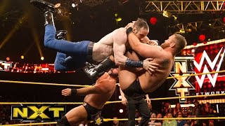 Dash & Dawson vs. The Vaudevillains – NXT Tag Team Championship Match : WWE NXT, Nov. 25, 2015