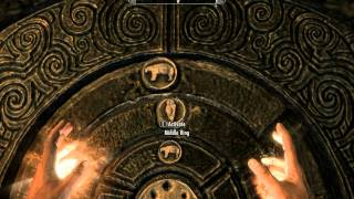 Skyrim - How to Open the Golden Claw Door