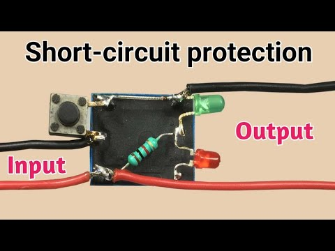 Simple Short-circuit Protection Circuit | Save Your Battery/power-supply
