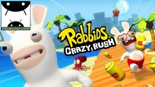 Rabbids Crazy Rush Android GamePlay Trailer [1080p/60FPS] (By Ubisoft Entertainment)