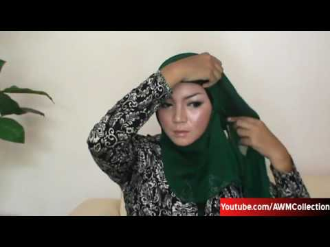 Hijab Tutorial Paris Segi Empat Modern Dan Simple Baru