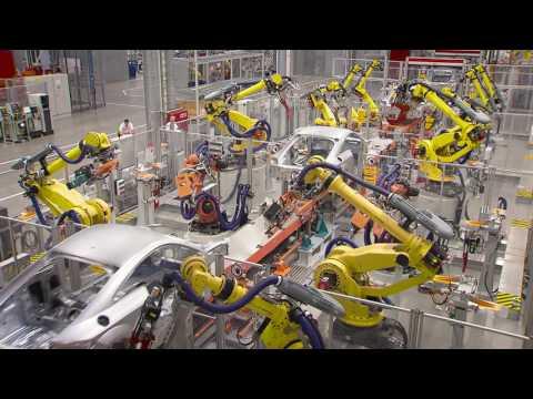 FANUC Industrial Robots at AUDI