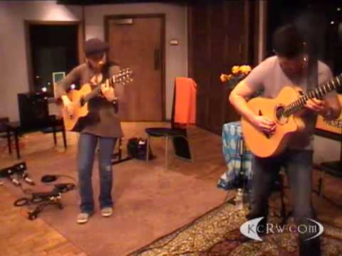 "Rodrigo y Gabriela performing ""Buster Voodoo"" on KCRW"