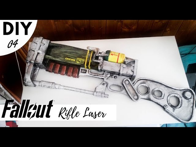 Como hacer Rifle Laser DIY / How to make FALLOUT COSPLAY
