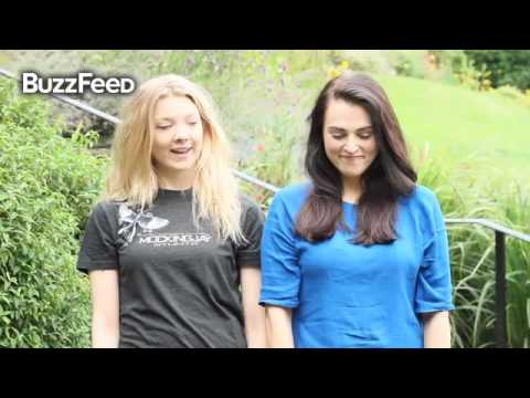 ALS Ice Bucket Challenge - Natalie Dormer & Katie McGrath (full & with sound)