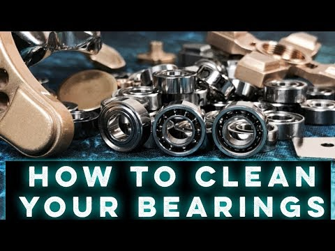 Tutorial: How to clean your bearings!