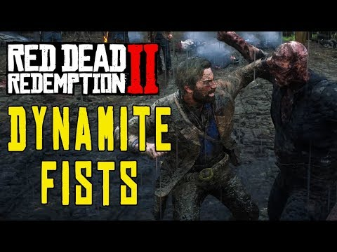 Red Dead Redemption 2 Mods - DYNAMITE FISTS!