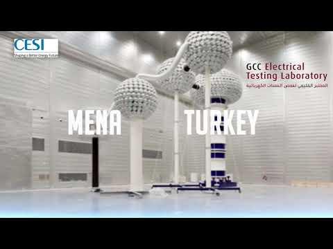 GCC Electrical Equipment Testing Lab