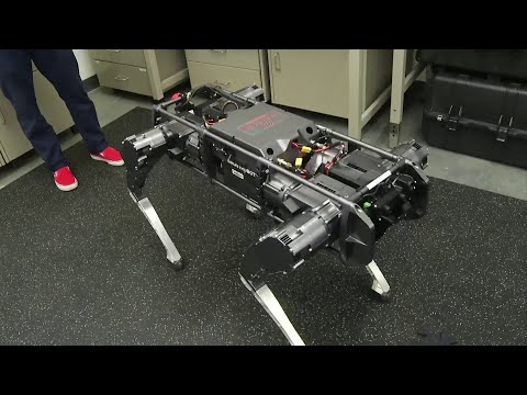 Virginia Tech's Push-up Robot Does Far More Than Just Workout