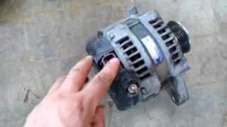 Замена Генератора на Toyota Avensis Diesel. 2.0 d-4d