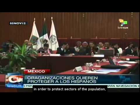Human rights groups in Mexico analyse situation of migrants