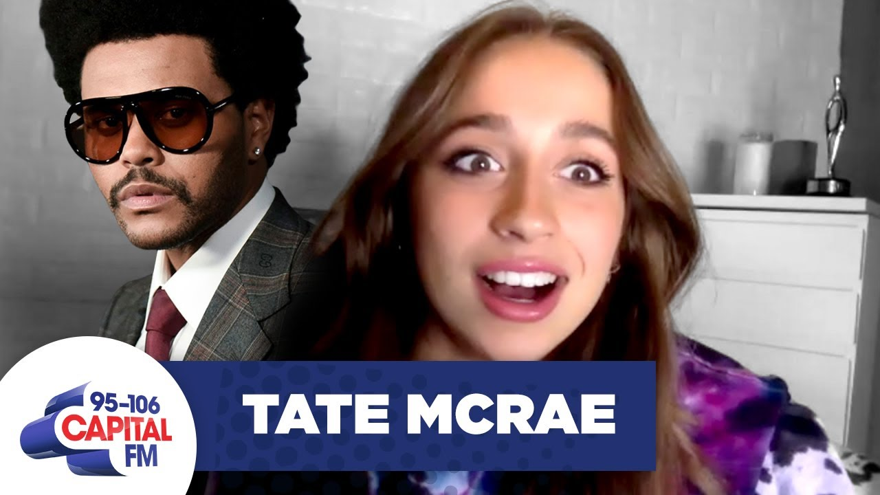 Tate McRae's Been DM'ing The Weeknd... | Interview | Capital