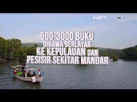 Mengarungi Nestapa Menebar Bahagia, Kapal Perpustakaan Keliling Polewali Mandar - Lentera Indonesia