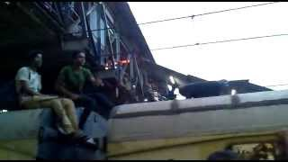 Mumbai local train stunts invitation to death