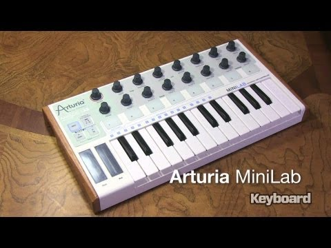 Arturia MiniLab Hands-On