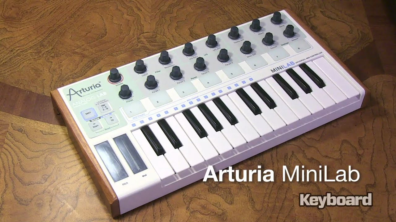 ARTURIA MINILAB WINDOWS DRIVER