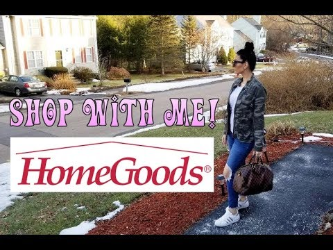 SHOP WITH ME || HOMEGOODS || A HOME DECOR ADVENTURE