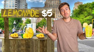 I Opened a Lemonade Stand to Pay my NYC Rent
