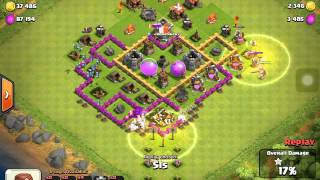 PISSED OF MINIONS! Clash Of Clans raids/gameplay #1