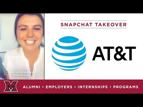 Francesca's Marketing Internship for AT&T in Los Angeles, CA