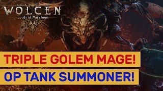 Wolcen   Triple Livor Mortis Summoner Mage! Level 187 Super Tank! | Online