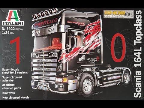 24/Scania 164l topc Lass Italeri 3922/1 v/éhicule
