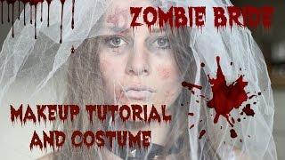 Zombie bride makeup + costume ♥ Roligaprylar