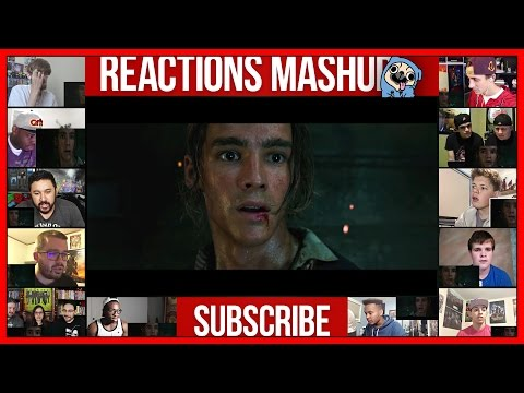 Pirates of the Caribbean: Dead Men Tell No Tales Teaser Trailer (Reaction) Reactions Mashup