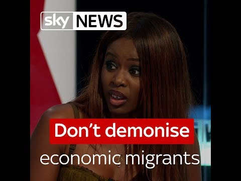 Don't demonise economic migrants