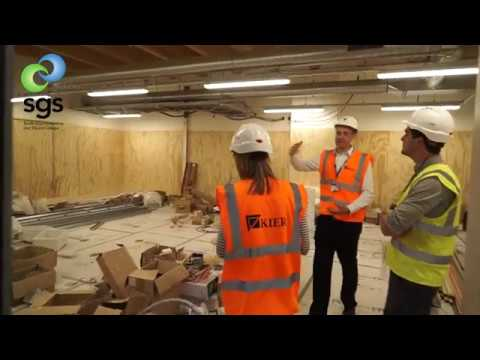 SGS Berkeley Green - A Look inside the new Green Skills Centre