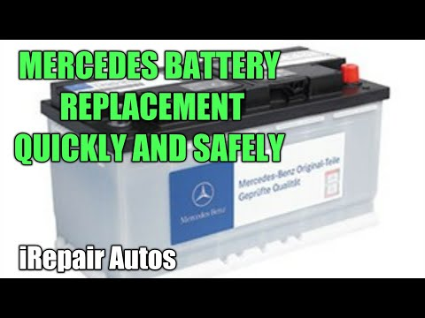 Mercedes ML350 Main Battery Replacement