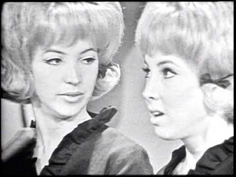 American Bandstand 1964- Interview Paris Sisters