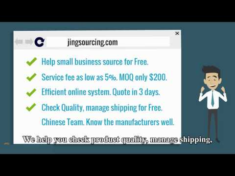Best Sourcing Agent in China -Jingsourcing