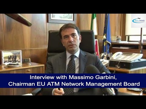 Interview with Massimo Garbini, Chairman EU ATM Network Management Board