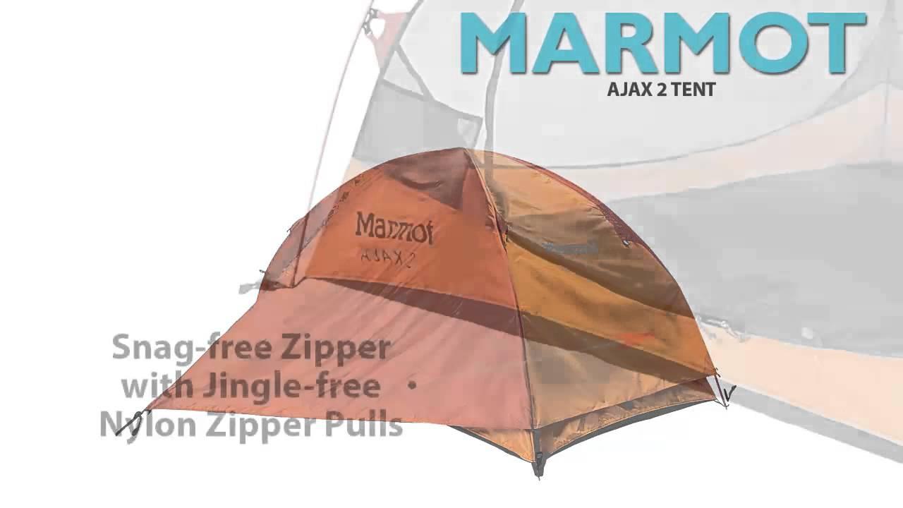 Marmot Ajax 2 Tent - 2-Person 3-Season  sc 1 st  YouTube & Marmot Ajax 2 Tent - 2-Person 3-Season - YouTube