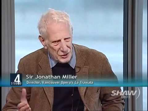 Sir Jonathan Miller on Studio 4 with Host Fanny Kiefer