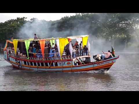 Boat picnic in Isapura Bangladesh